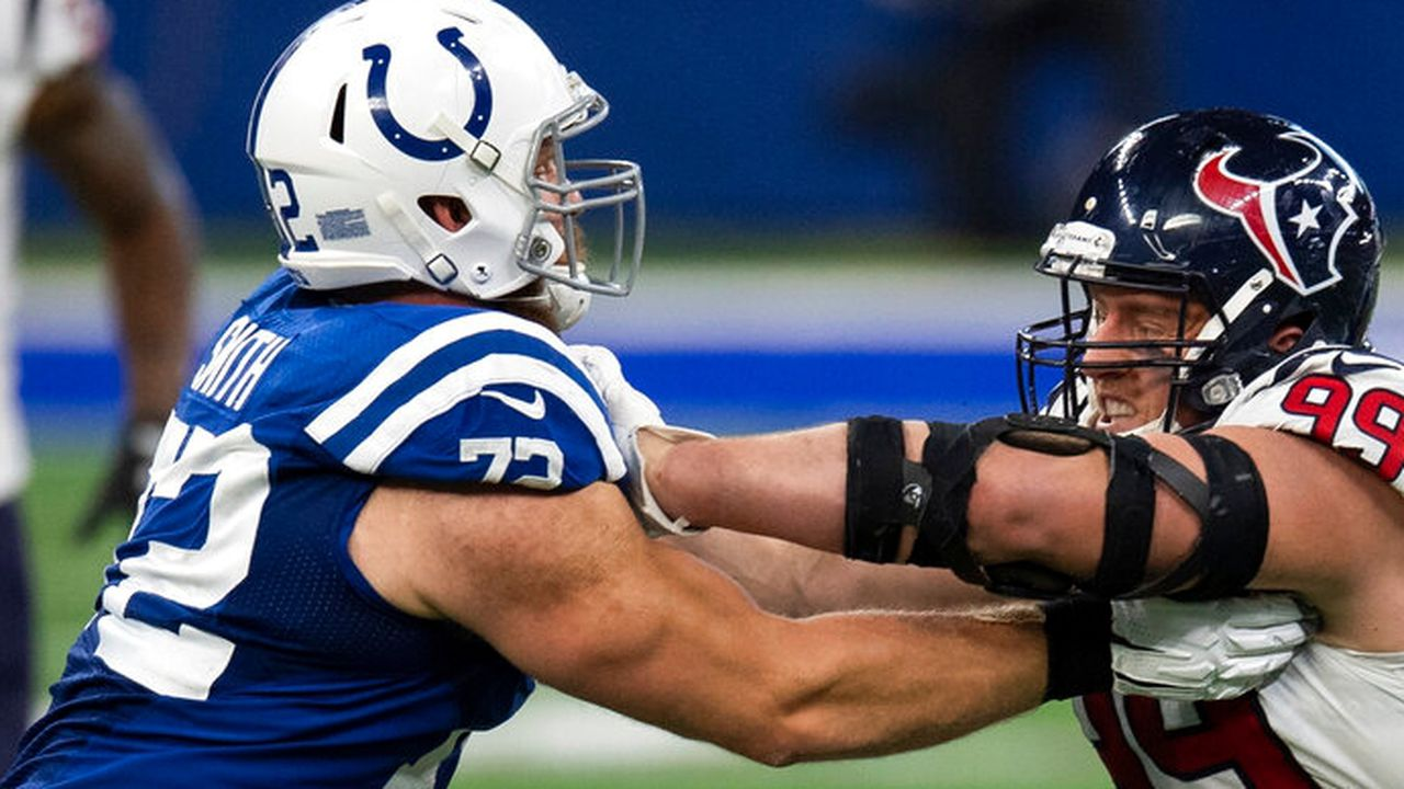 Braden Smith picks up on the Pro Bowl nominee to head out for the Colts