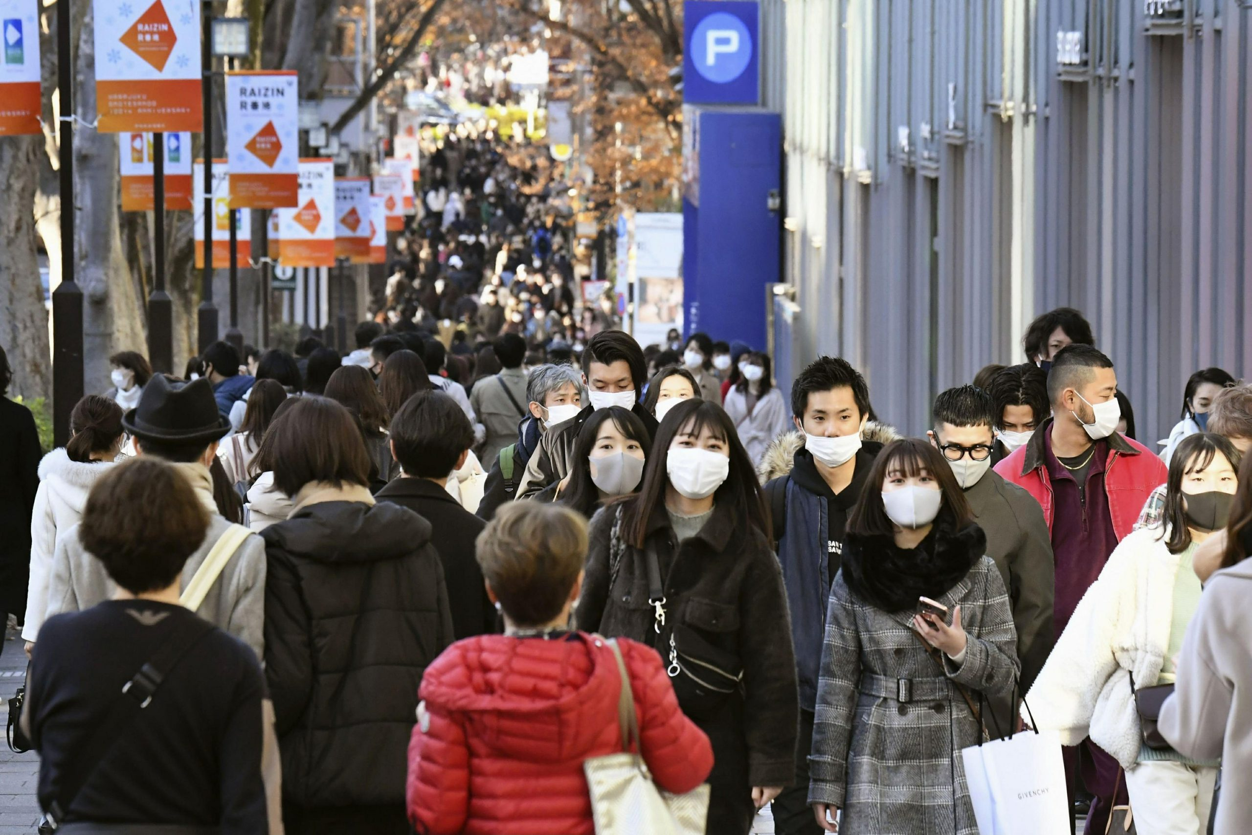 Japan stops all foreign arrivals on the British alternative