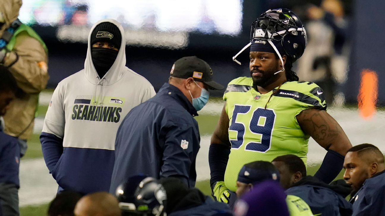 Seattle Seahawks to step down on veteran DT Damon 'Snacks' Harrison