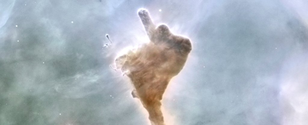 This epic space cloud sums up our goodbye for 2020