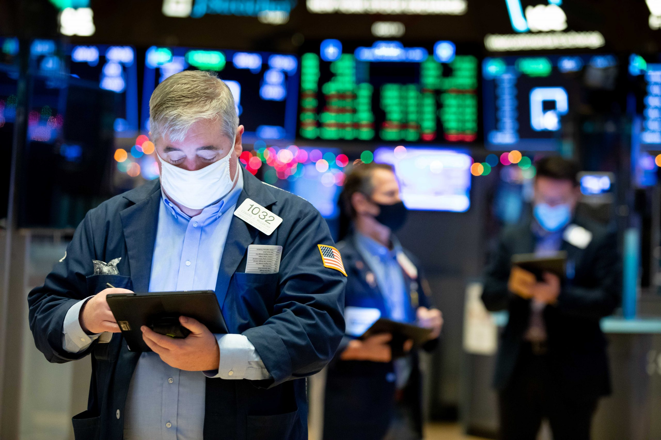 US stock futures rose slightly after Monday's record jump