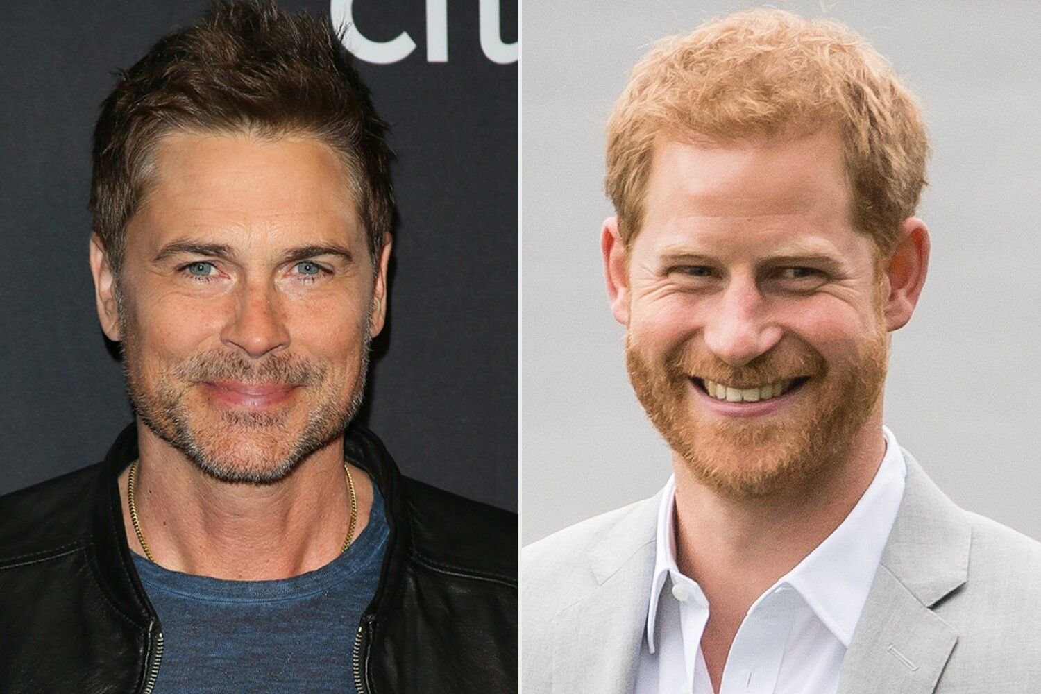 Prince Harry may be an athlete in a ponytail, Rob Lowe claims his California neighbor