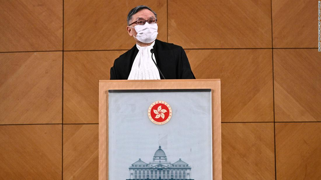 The new Chief Justice of Hong Kong has pledged to support the independence of the city's judiciary.  can he?