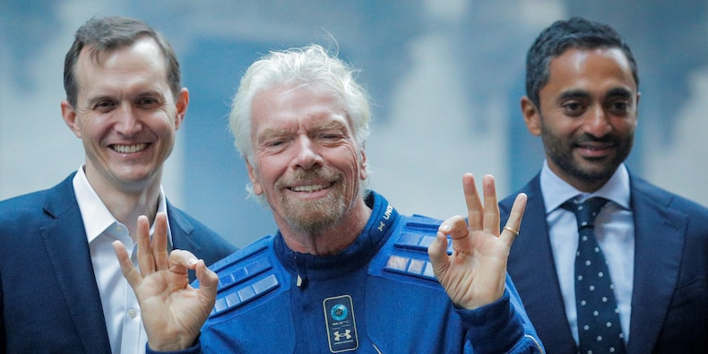 Virgin Galactic rockets 22% after Tesla investor Ark revealed it will launch an ETF themed space