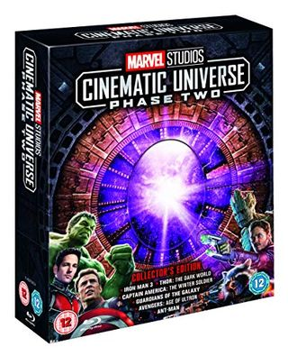 Marvel Studios Collectible Edition Square Set - Stage 2 Blu-ray [Region Free]