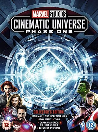Marvel Studios Collectible Edition Chest Set Phase 1 [DVD]