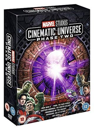 Marvel Studios Collectibles Release Box Set - Phase 2 [DVD]