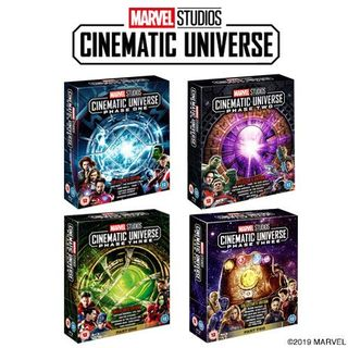 A complete set of Marvel Phase 1-3 Blu-ray
