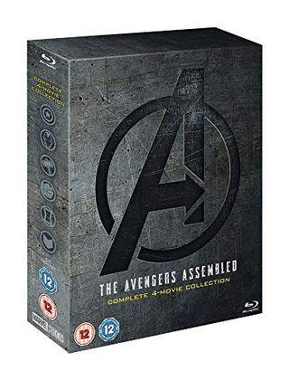 Avengers: 1-4 Complete Blu-ray Disc Set Includes Bonus Disc [2019] [Region Free]