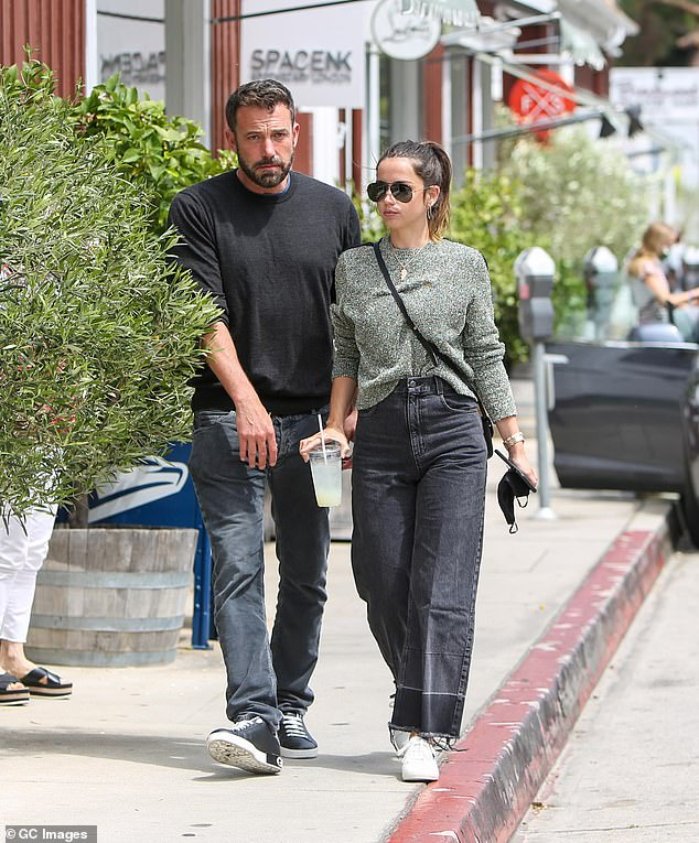 Low-key: They spent an inseparably large portion of 2020 enjoying the Los Angeles walks with their dogs and casual outings for coffee