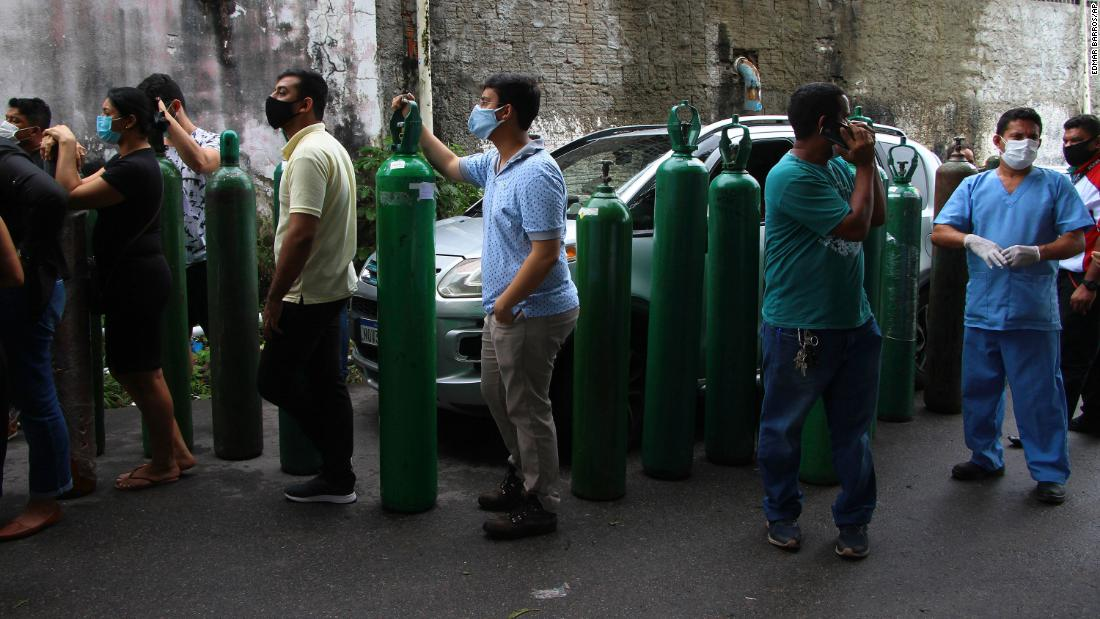 Brazilian officials were warned six days before the looming oxygen crisis in Manaus