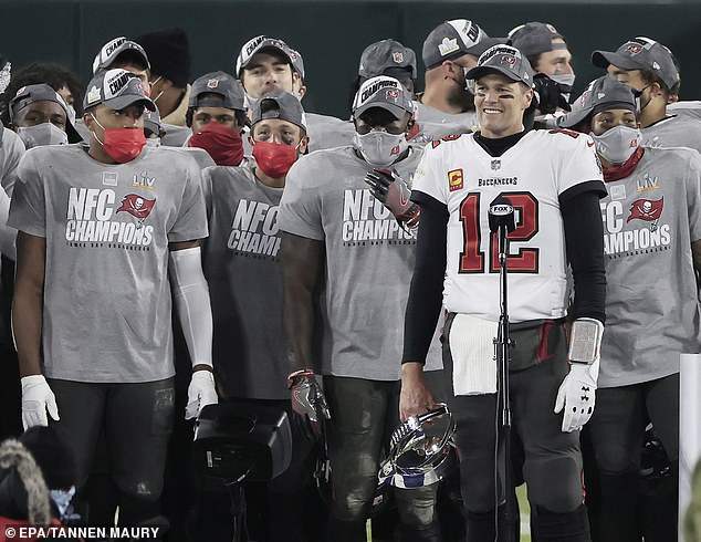 Team: The Bucs will face either the Kansas City Chiefs President or the Buffalo Bills at Raymond James Stadium in Tampa