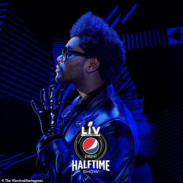 Entertainment: The Weeknd, a three-Grammy Award winner, is set to top the Pepsi Super Bowl LV Halftime Show after Eric Church and Jasmine Sullivan sing the National Anthem