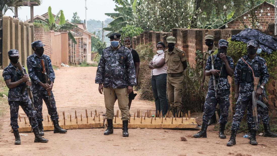 Ugandan security forces withdraw from Bobby Wayne's home