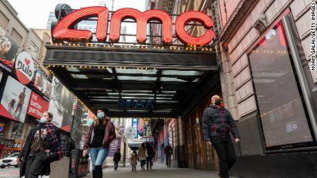 The CEO of AMC believes his cinemas will continue until 2021