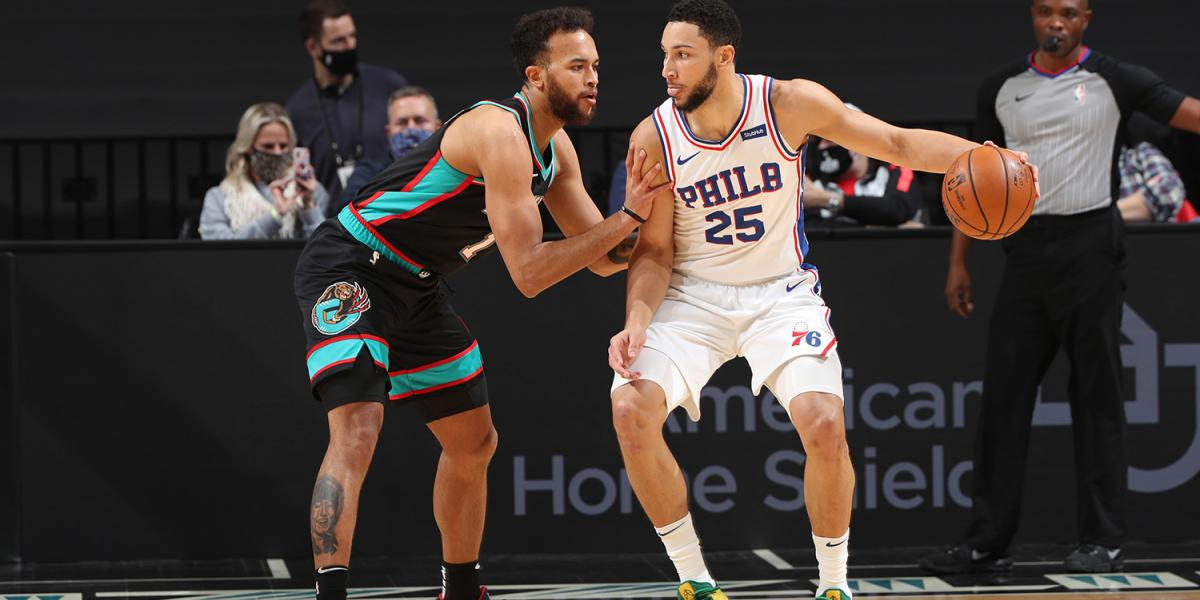3 notes after the late Sixers return you didn't lose to the Grizzlies