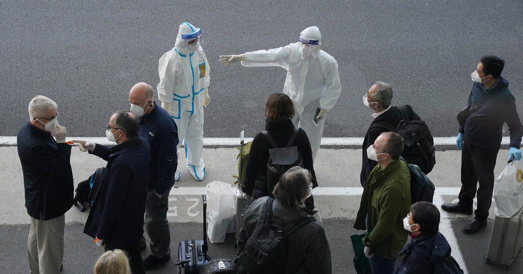 A World Health Organization team in Wuhan to track the Coronavirus