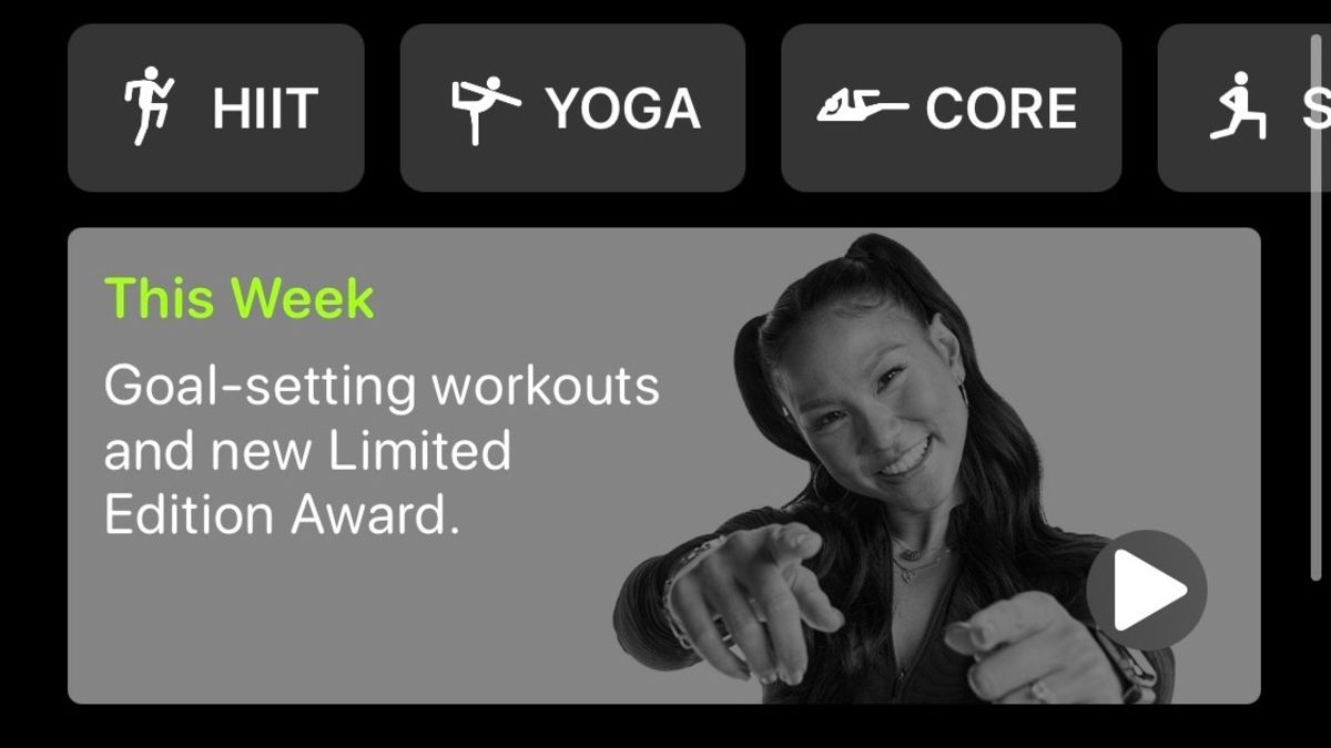 Apple, that's not what I meant when I said fitness + needs goals
