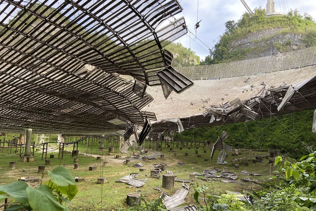 Astronomers still reel from the loss of the iconic Arecibo radio telescope