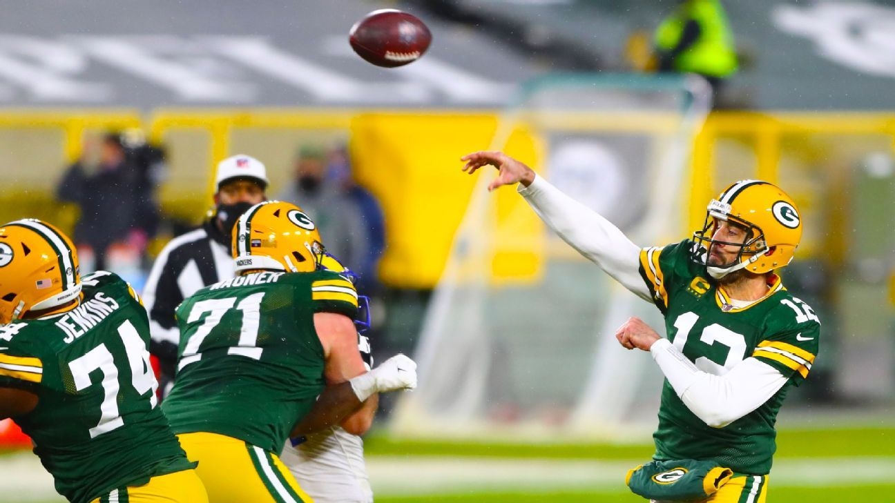 Green Bay Packers host the NFC Championship game after beating the Los Angeles Rams