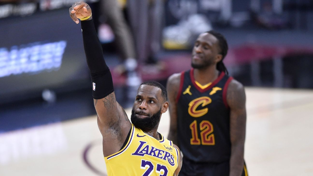 """""""Home cooking,"""" Cavaliers' chirping fuel for ExC Cavaliers, LeBron James, is a 46-point high in the season in Ohio."""