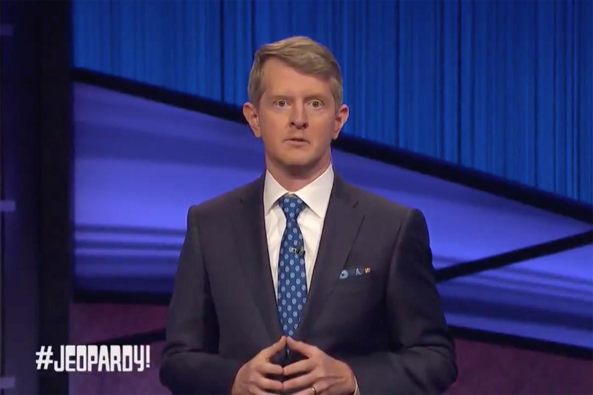 "Ken Jennings hosts the first ""Jeopardy!""  After the death of Alex Trebeek"