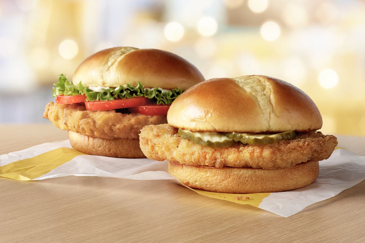 McDonald's will release 3 chicken sandwiches on February 24th