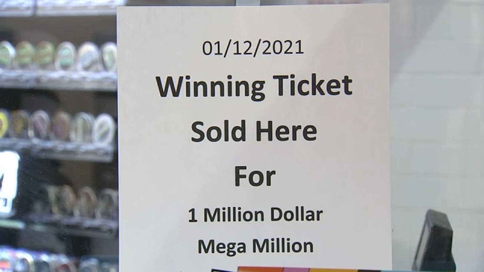 Mega Millions draw time: A million dollar ticket was purchased at Roscoe Village 711 in West Belmont, Chicago