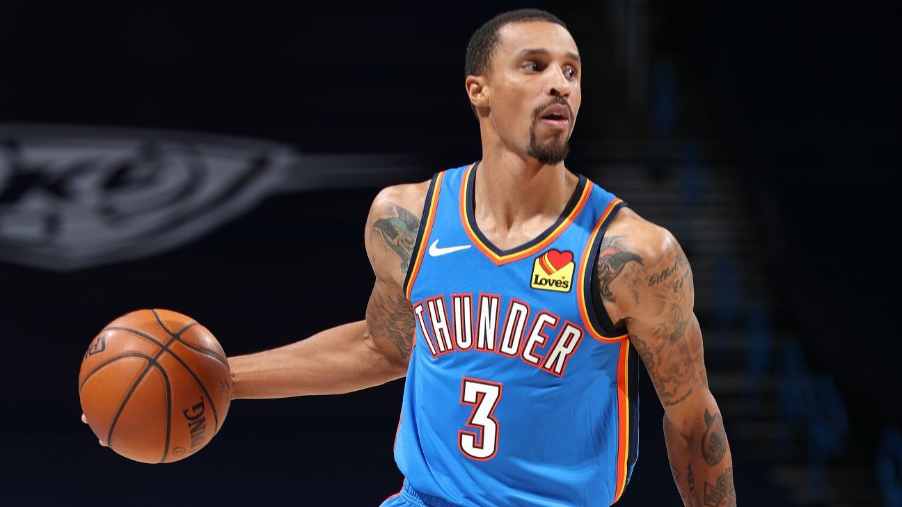 Oklahoma City Thunder's George Hill says the NBA's stricter protocol is 'meaningless'