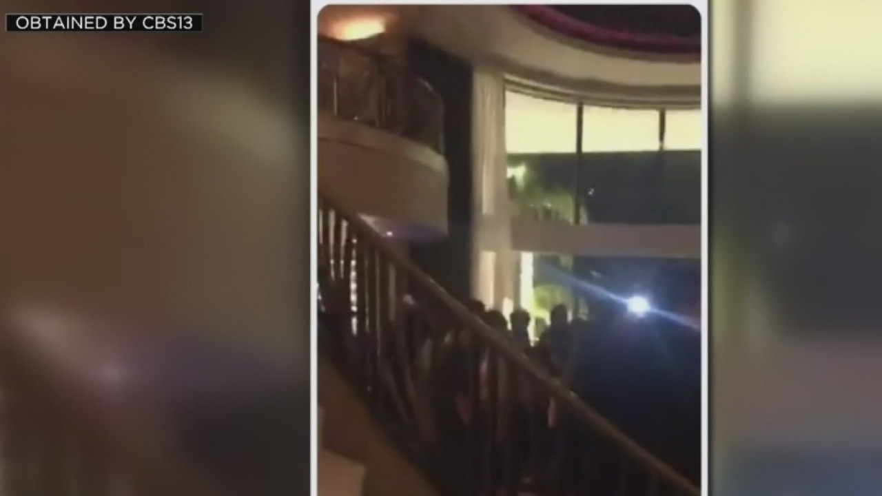 Sacramento Mayor Steinberg denounces the NYE Grand Gala held at Granite Bay Palace - CBS Sacramento