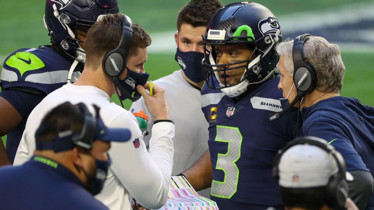 """Seattle Seahawks, citing """"philosophical differences,"""" part of offensive coordinator Brian Schottenheimer"""