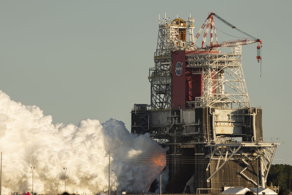 Testing the critical engine of NASA's Space Launch System is being stopped ahead of schedule