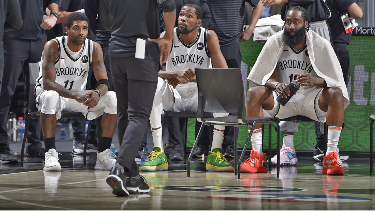 The Big Three of the Nets, Keri Irving, Kevin Durant, and James Harden, began to reveal themselves