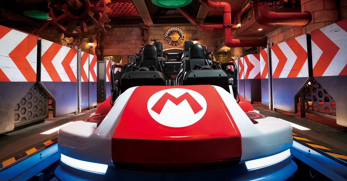 The opening of Super Nintendo World was delayed due to the state of emergency in Osaka