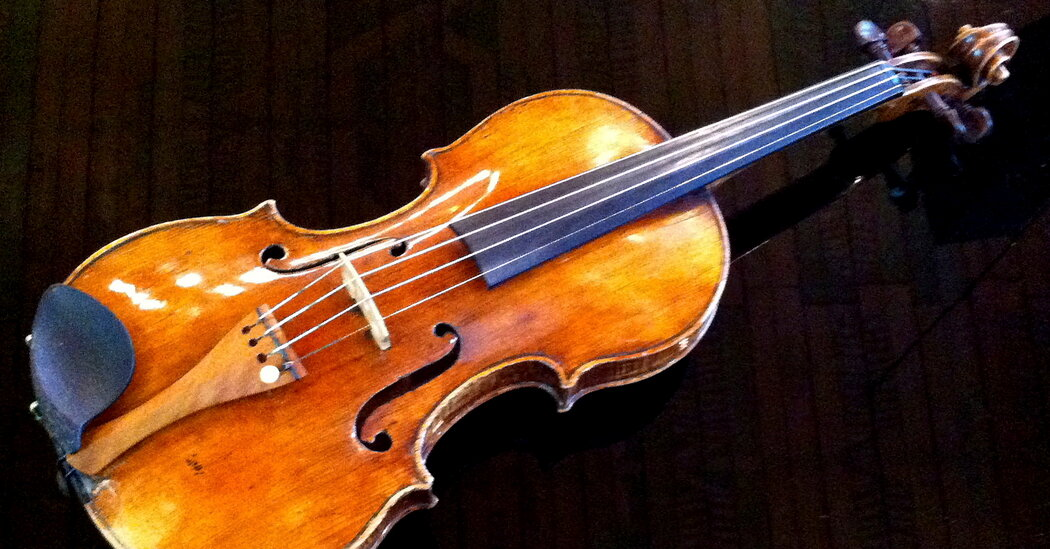The rare violin tests Germany's commitment to atonement for its Nazi past